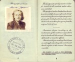 Pages 4 & 5 of 1948 Passport