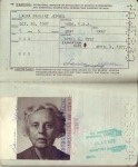 Pages 2 & 3 of Laura's 1972 Passport